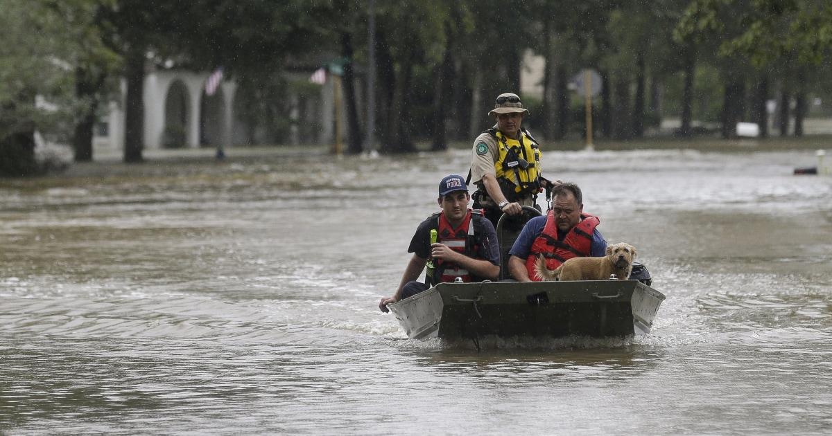 第五に死テキサス州の洪水の影響によ跡Imelda