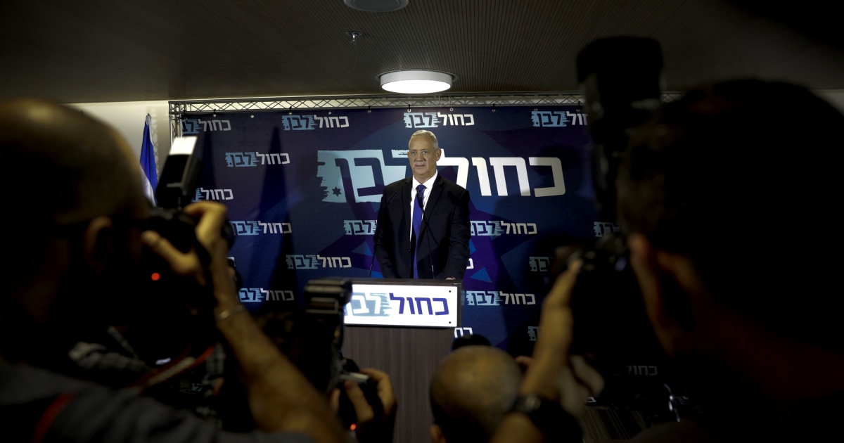 Arabische Partei sichert Netanyahu-Rivalen zum Premierminister Israels Präsident schwebt Einheit Regierung