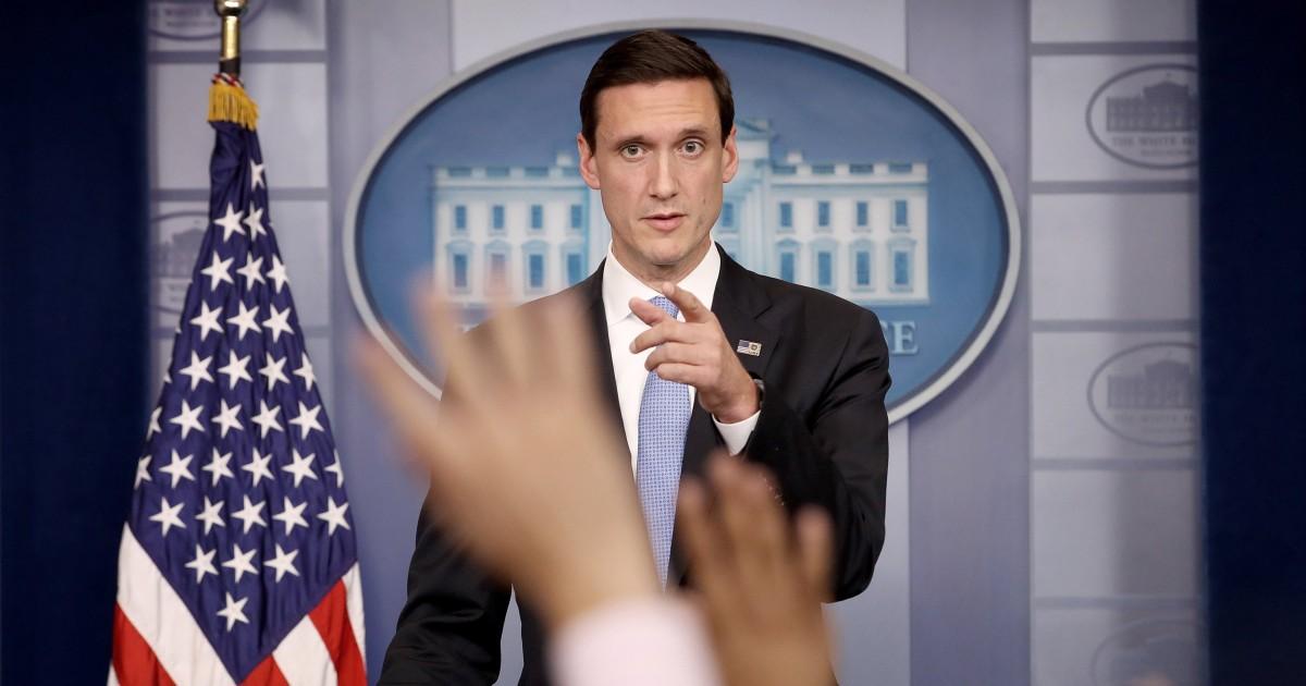 'Genug': Trump ' s ex-homeland security adviser 'gestört' 'frustriert' durch die Ukraine Vorwürfe, sagt Präsident müssen wir 2016 gehen