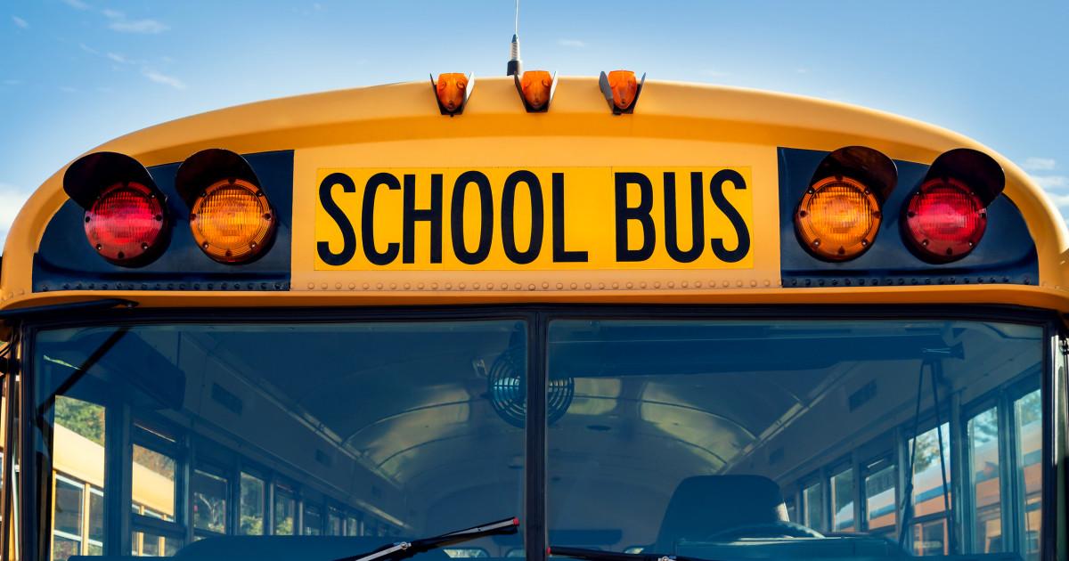 12-year-old έσυραν, χτύπησε με το δικό του σχολικό λεωφορείο μετά σακίδιο πιαστεί στην πόρτα