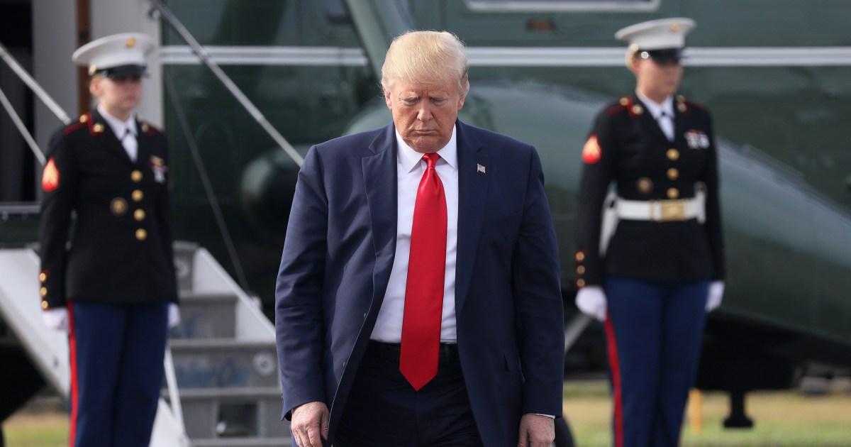 4つの政治的影響からの切り札impeachment問い合わせ
