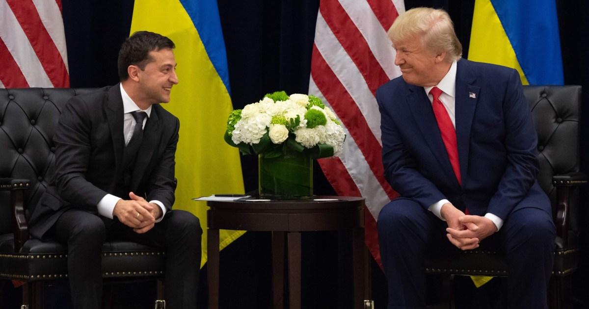 トランプ-Zelenskiy携帯電話で使用されるスキャンダルに巻き込米国、ウクライナのほとんどないですね。