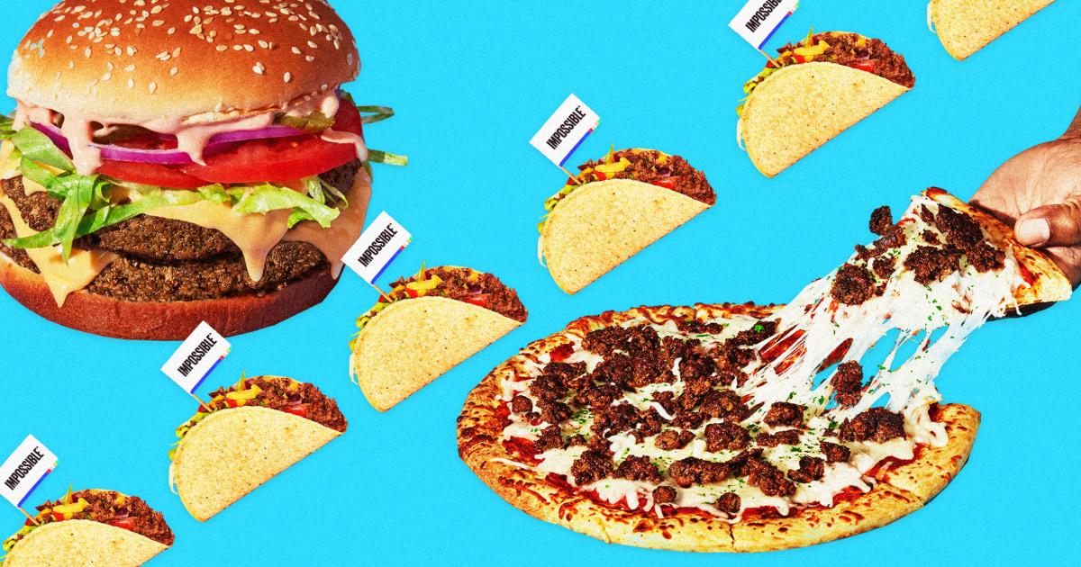 Sebelum menggigit burger itu: Adalah palsu daging yang lebih baik untuk anda, atau lingkungan?