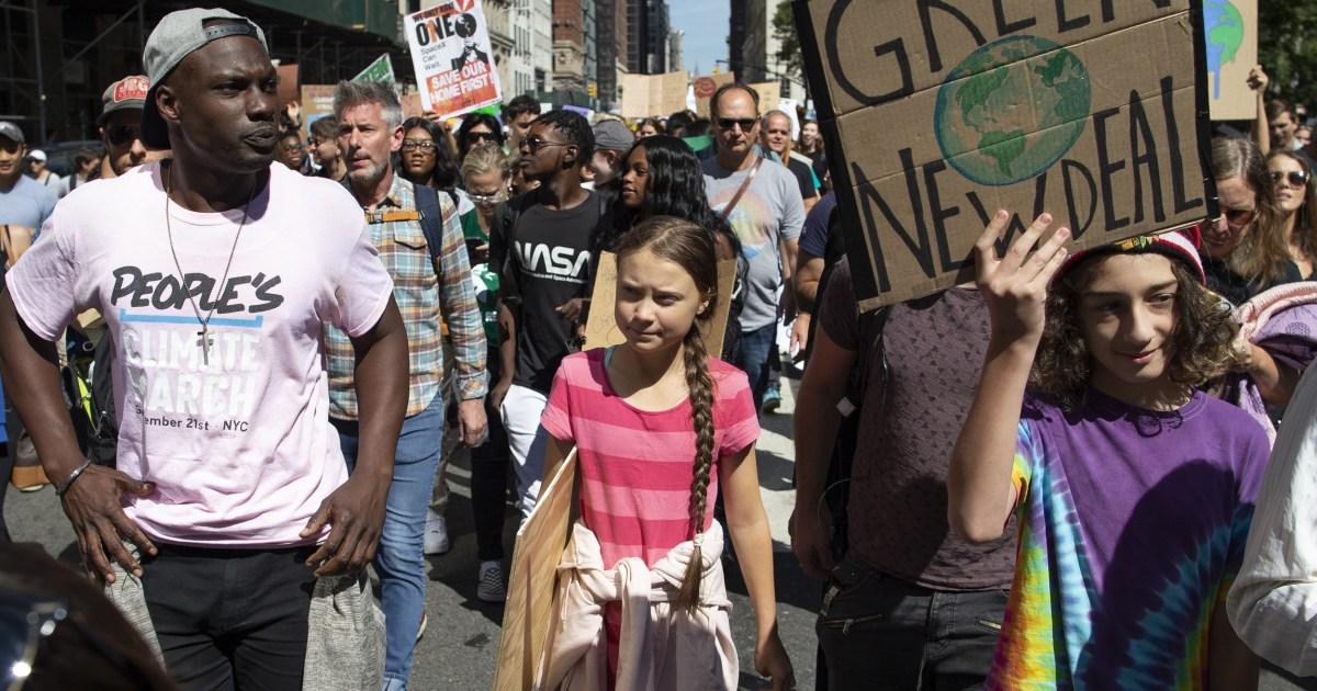 ベテランの人権擁護活動家がいグレタ-Thunbergの世代に継続戦後の若い理想燃え出し