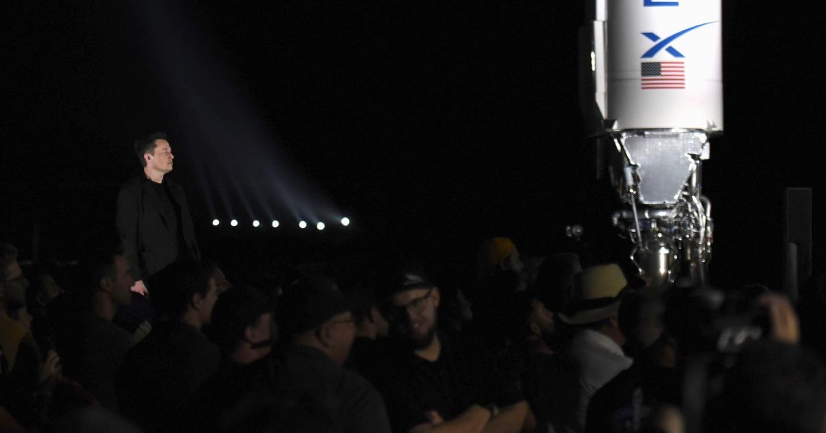 マスク発表SpaceXロケット設計へのマース、バ