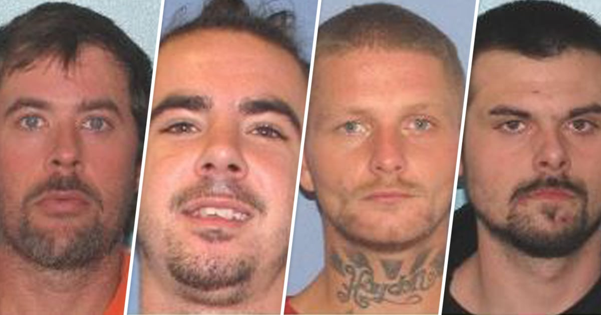 Four Ohio inmates escape from county jail after overpowering guards