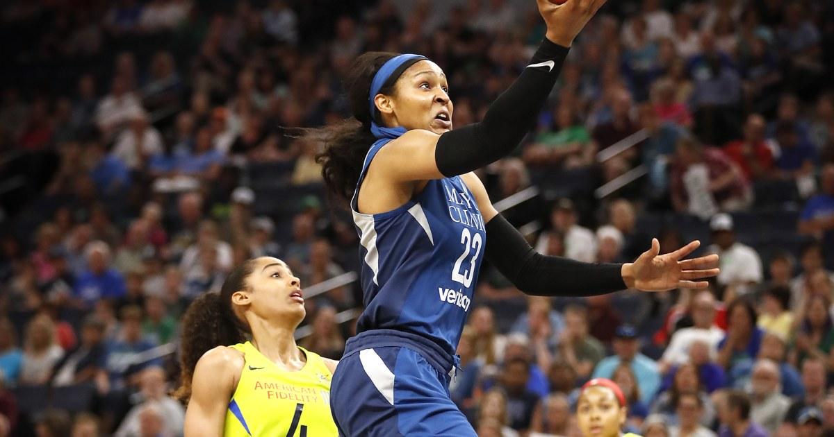WNBAの伝説のマヤMooreの葉バスケットボールの戦死刑囚の有罪判決