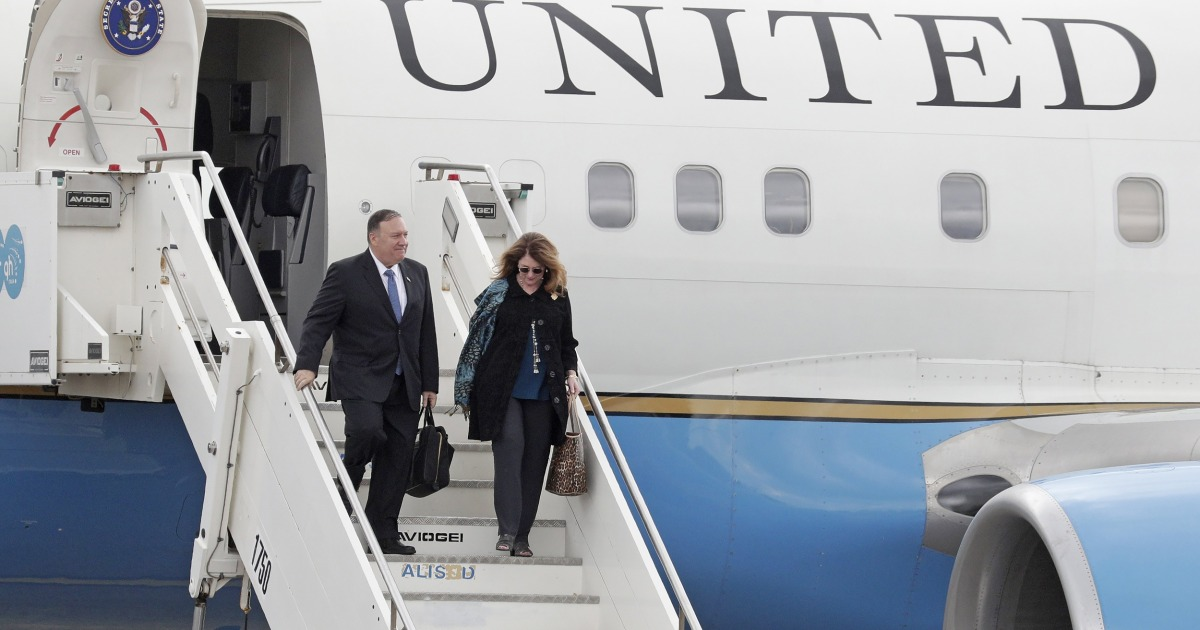 State Department watchdog says Pompeo, wife violated ethics rule