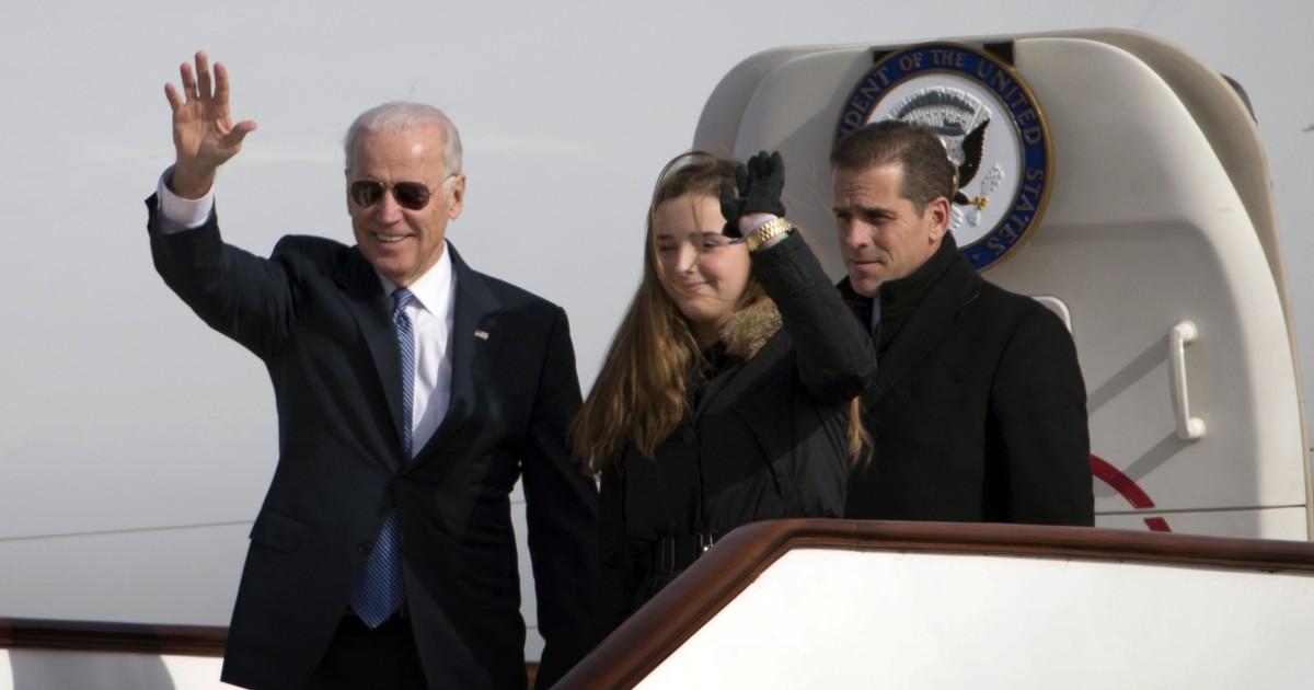 Biden berkunjung ke Cina dengan anak Hunter pada tahun 2013 datang di bawah pengawasan baru