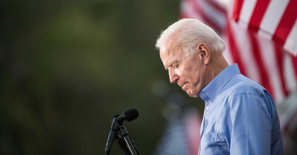 Joe Biden adalah membodohi dirinya sendiri jika dia pikir dia 2020 Democratic front-runner