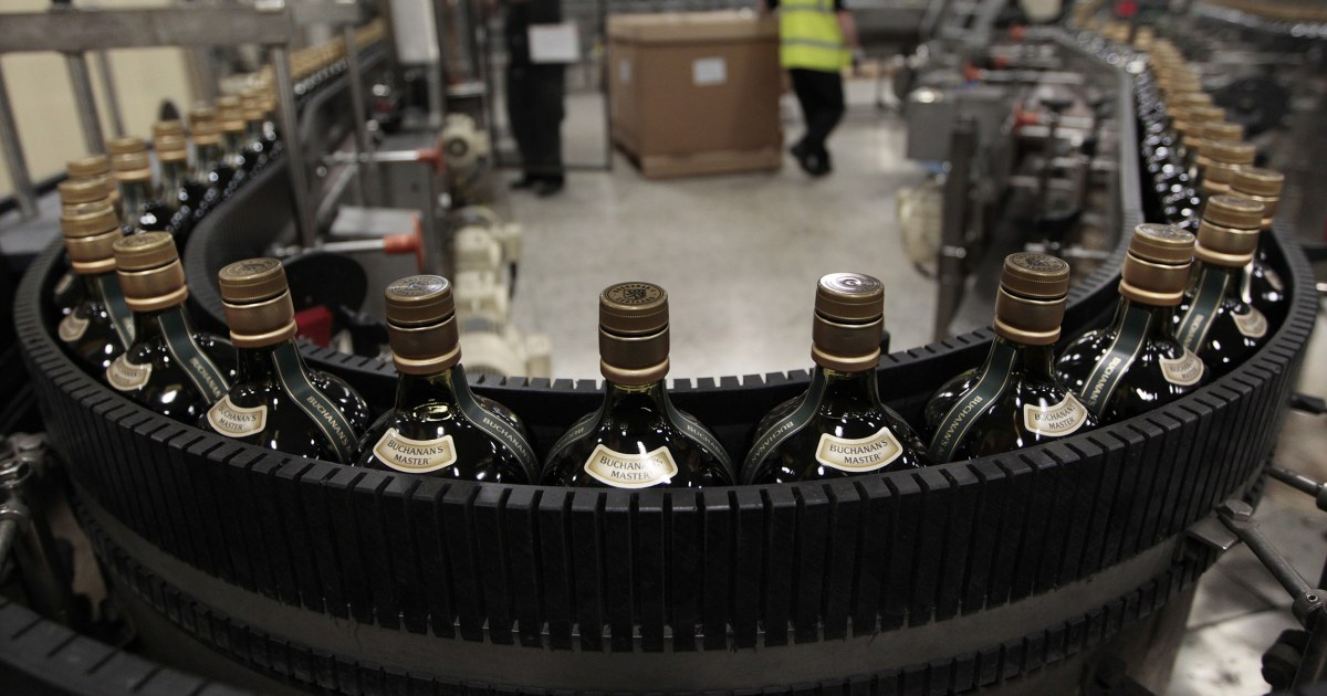 Scotch whisky, französischen Wein, italienische Käse Treffer von Trumpf die aktuellen Tarife