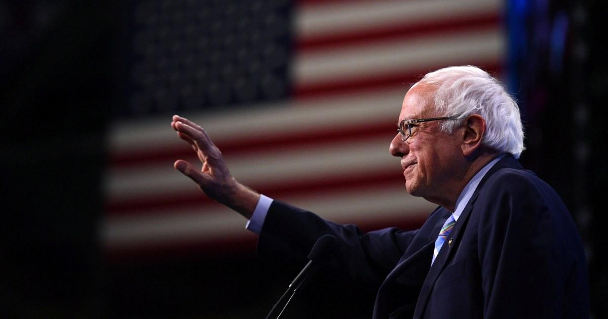 Bernie Sanders, nach Hause zu gehen Samstag, als er erholt sich von Herz-Angriff