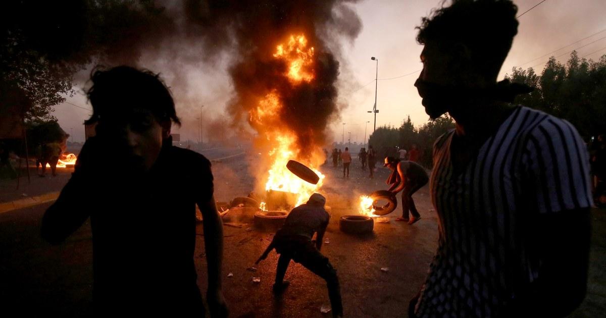 Setidaknya 18 tewas di Irak protes semalam karena pemerintah menjanjikan reformasi