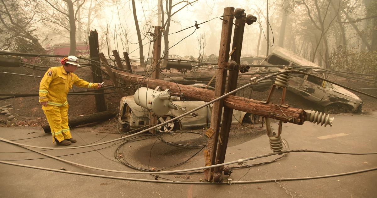 Bahaya kebakaran mengancam daya 800.000 di California