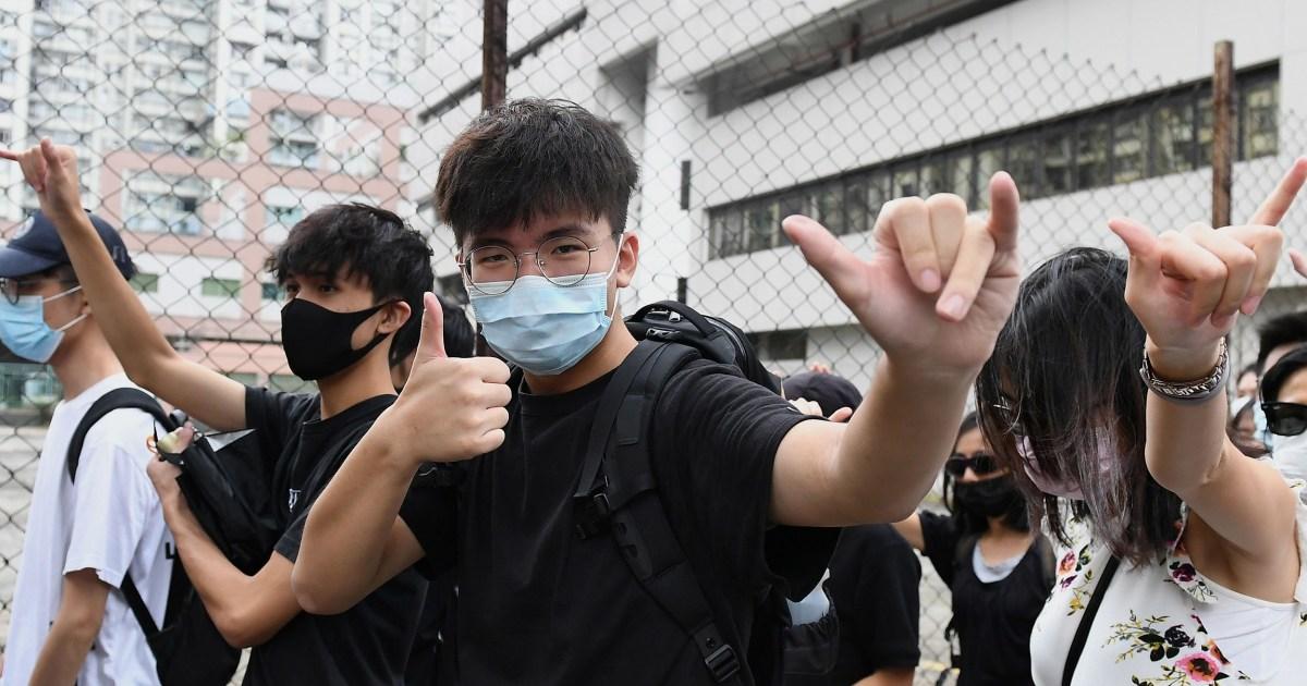 抗議参加者は有料となり最初の利用に香港の新しいマスクの禁止