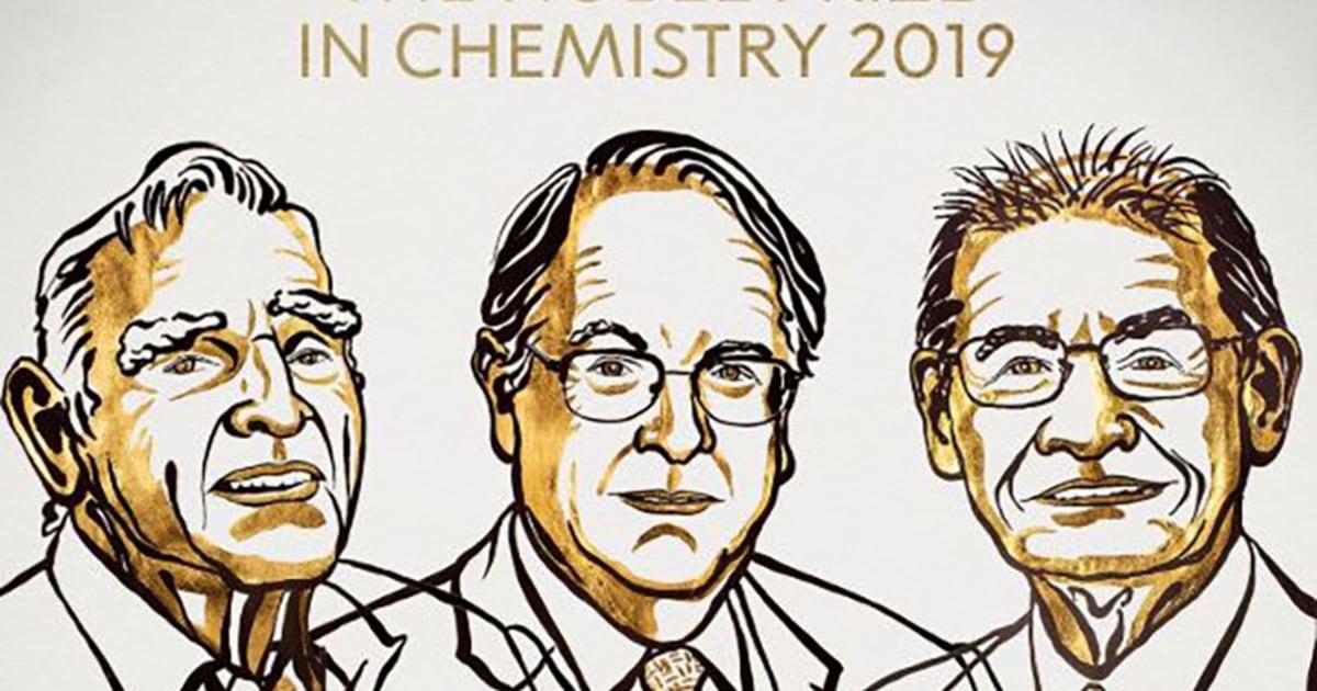 Nobel geht an Hersteller von lithium-Ionen-Batterien zu verringern, dass fossile Brennstoffe benötigen