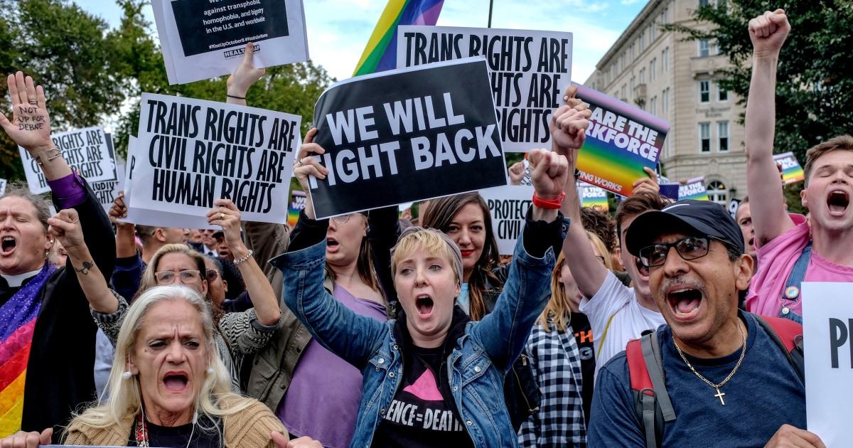 Tokoh-tokoh sentral di Mahkamah Agung LGBTQ kasus diskriminasi berbicara