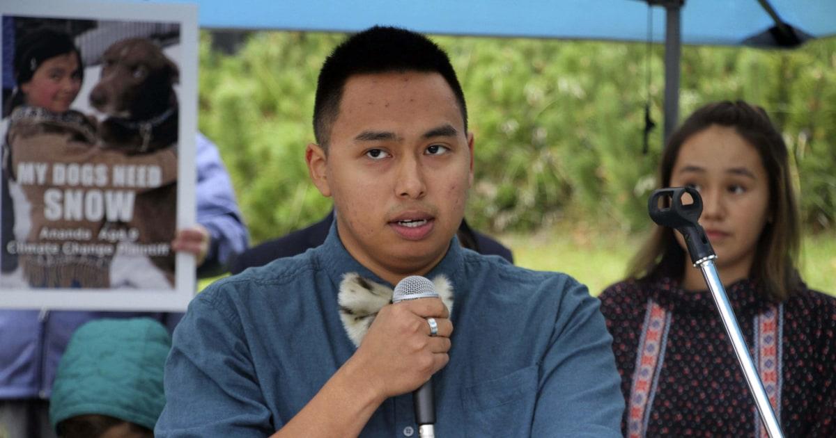 Anak-anak mengambil perubahan iklim berjuang untuk Alaska Mahkamah Agung