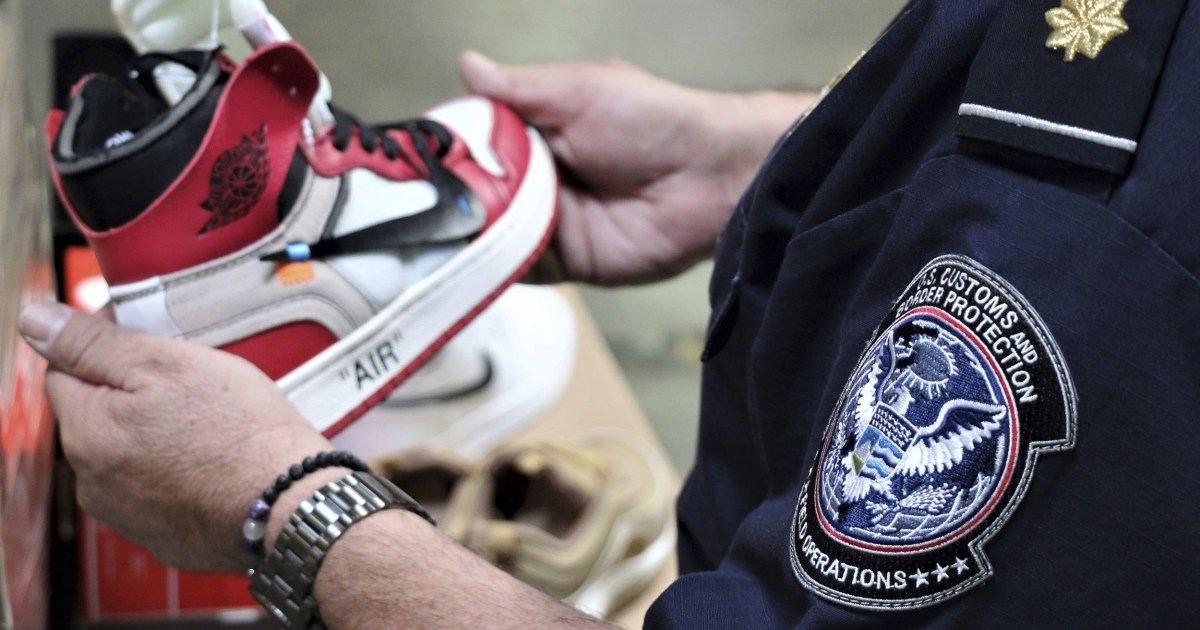 More than $2 million worth of fake Nikes seized in Los Angeles-area port thumbnail