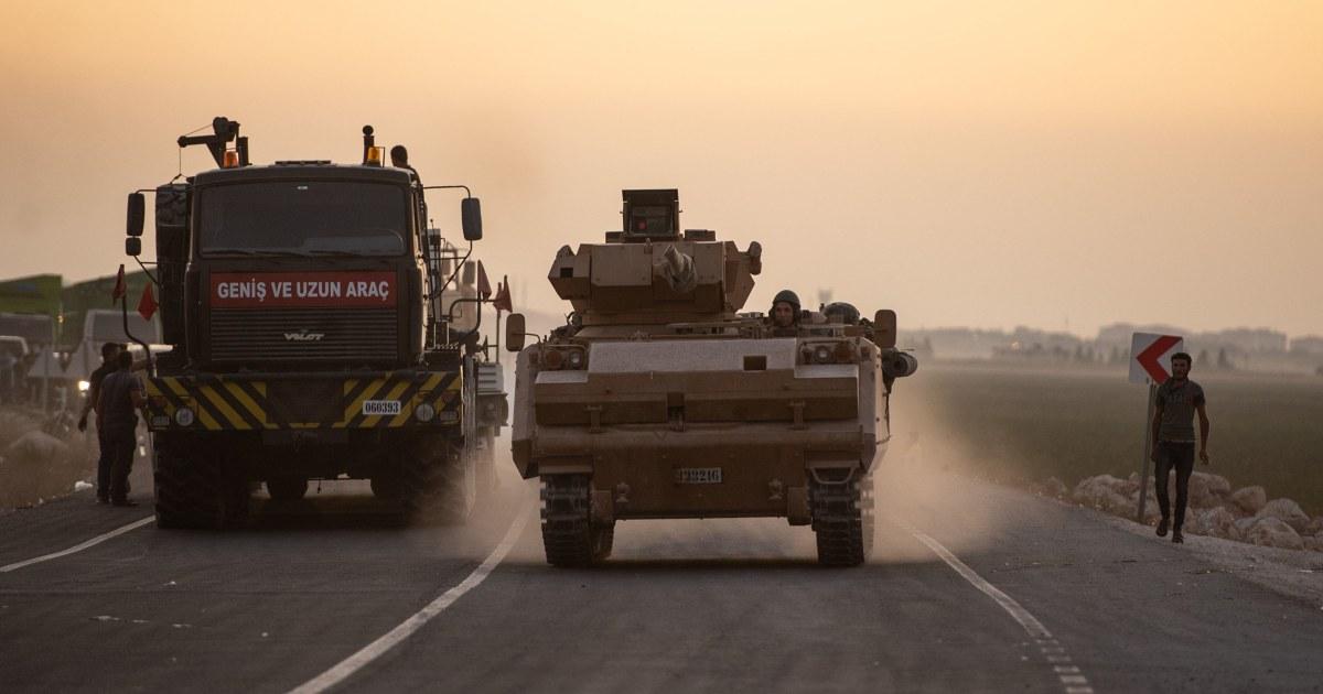 Die Türkei sagt, 109 Menschen getötet, als Truppen weiter Voraus in Syrien