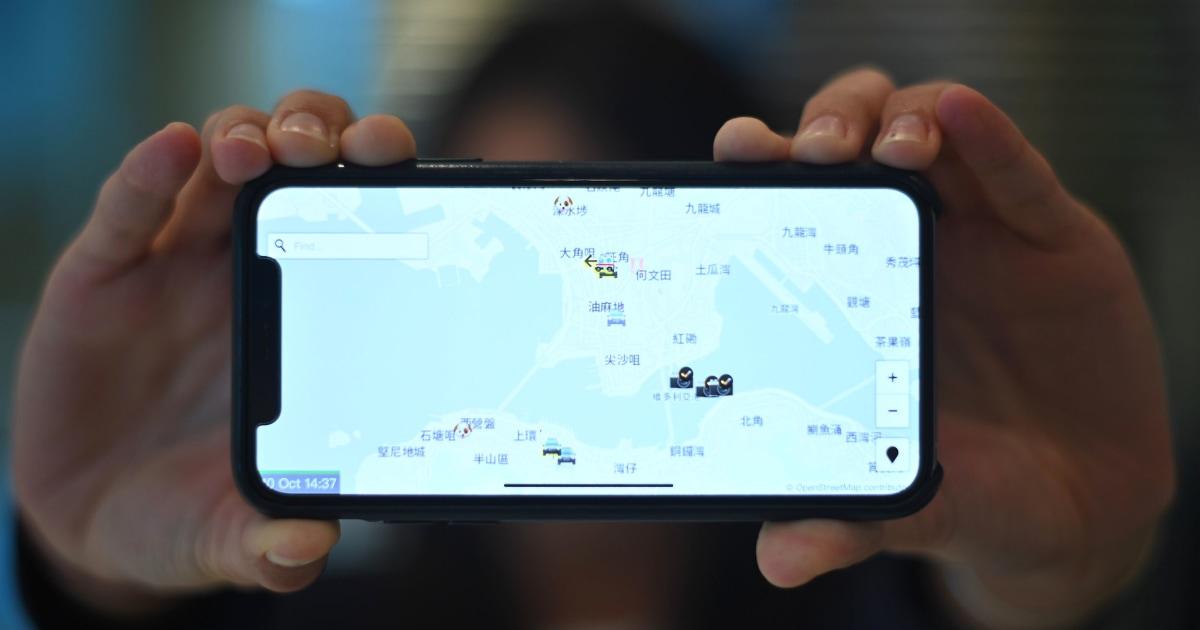 Apple menarik polisi-pelacakan aplikasi yang digunakan oleh pengunjuk rasa Hong Kong