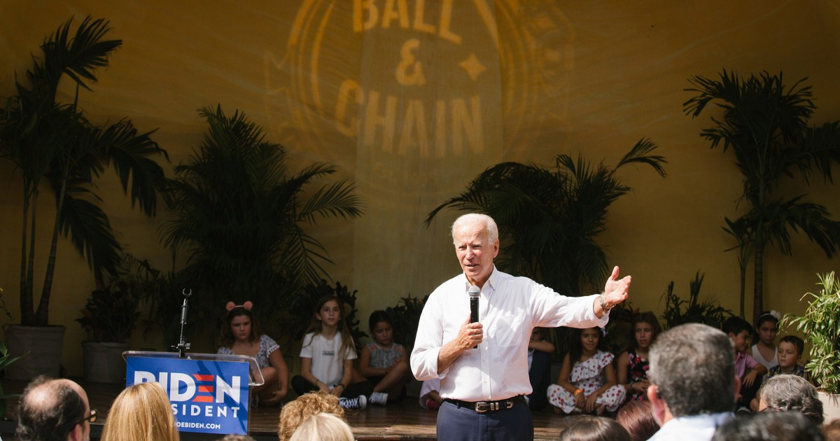 Joe Biden is counting on Hispanic voters. Can they count on him?