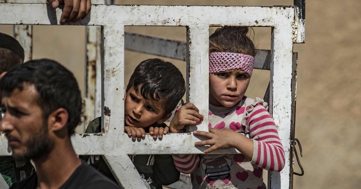 AS menarik garis merah di Turki aksi militer di Suriah