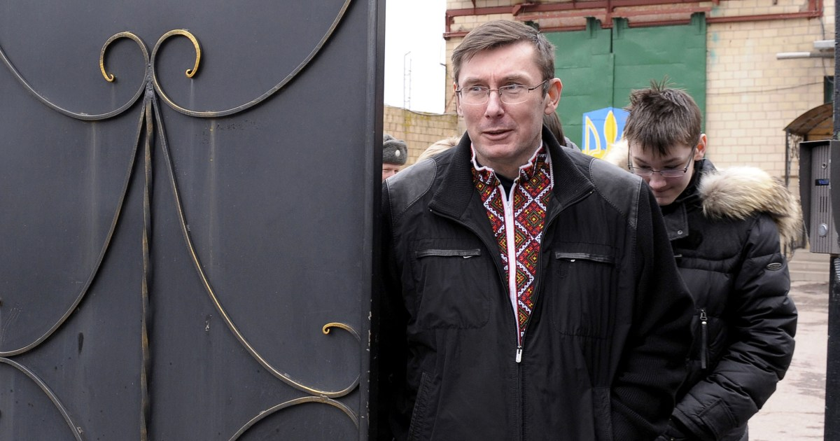 Lutsenko is unnamed Ukrainian who led plot to oust Yovanovitch, says official