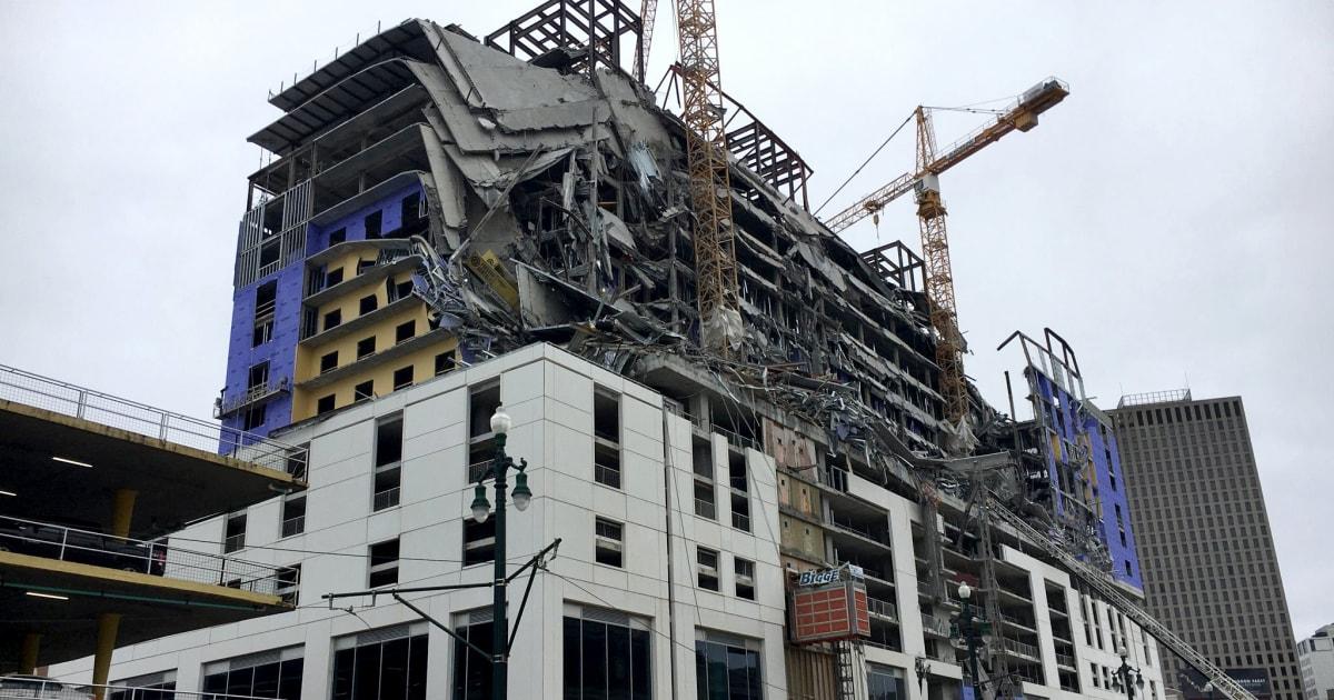Raksasa derek runtuh di Hard Rock Hotel di mana 3 meninggal akan dibongkar