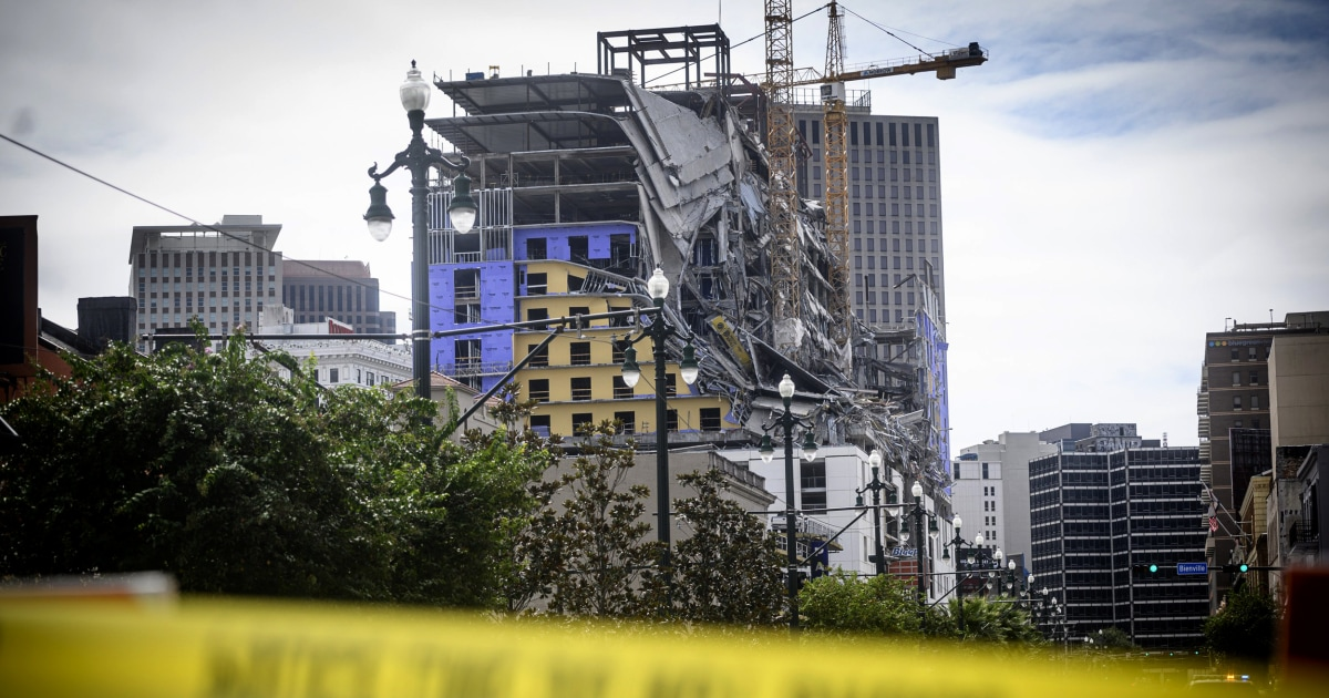New Orleans Hard Rock Hotel Collapse