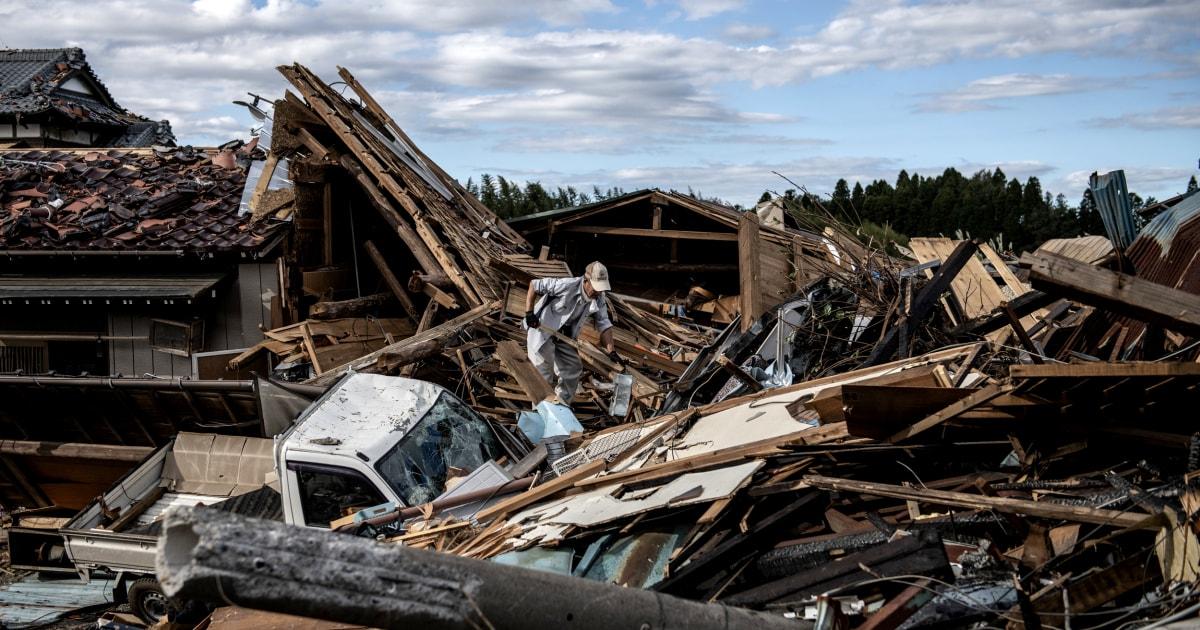 Taifun Hagibis Blätter so viele wie 33 Toten als Japan weiterhin Rettungsversuche