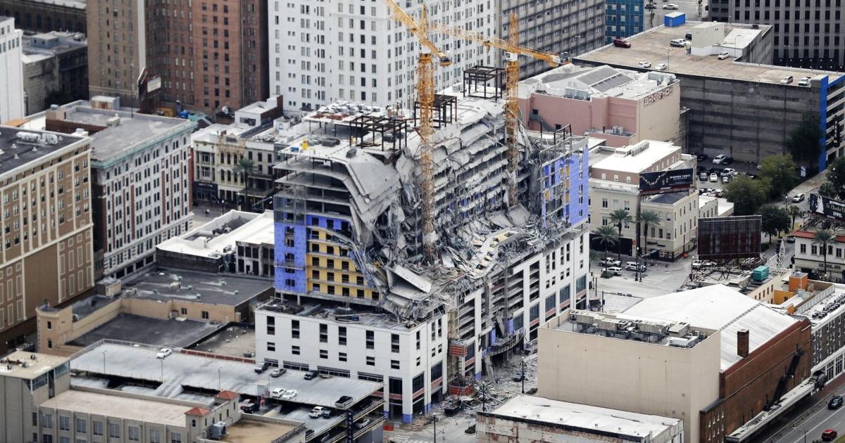 Pekerja terluka di Hard Rock Hotel runtuh di New Orleans untuk dideportasi