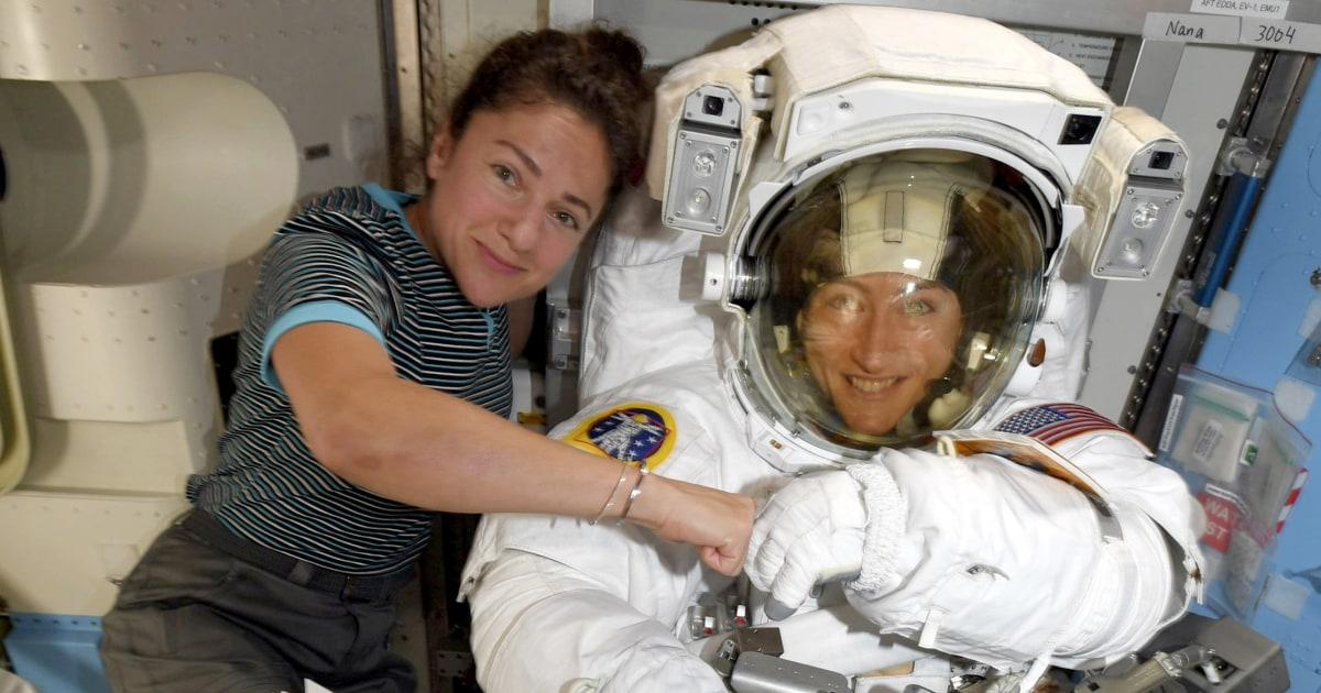 NASA pertama semua-perempuan angkasa sekarang akan berlangsung pekan ini