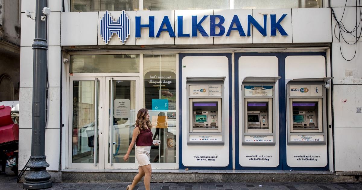 ΗΠΑ χρεώσεις κρατική τράπεζα της τουρκίας στην πολλών δισεκατομμυρίων δολαρίων κυρώσεις-busting καθεστώς