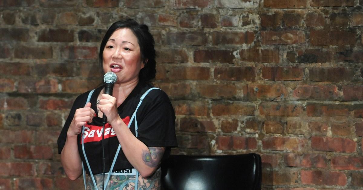 Margaret Cho: tali sekarang kita harus berjalan pada balapan akan membuat komedi yang lebih baik