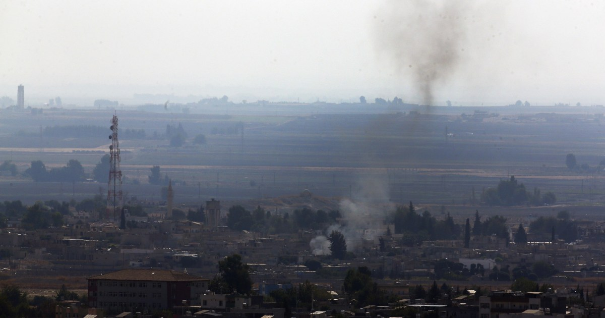 Fighting continues on Turkey-Syria border despite U.S.-led cease-fire thumbnail
