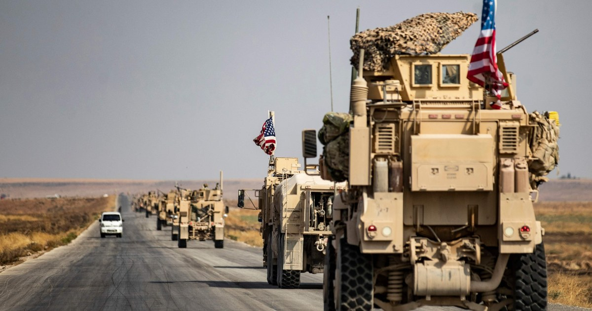 U.S. troops leaving Syria for western Iraq as Kurds look to withdraw amid cease-fire thumbnail