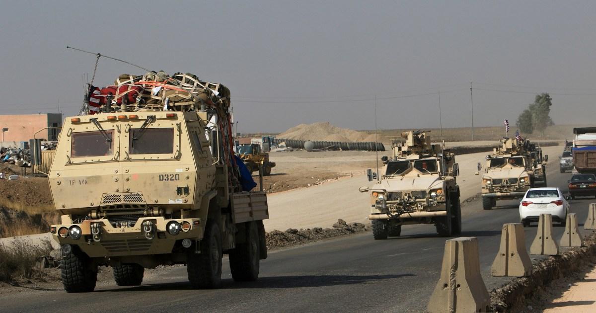 US-Truppen überqueren in den Irak aus Syrien
