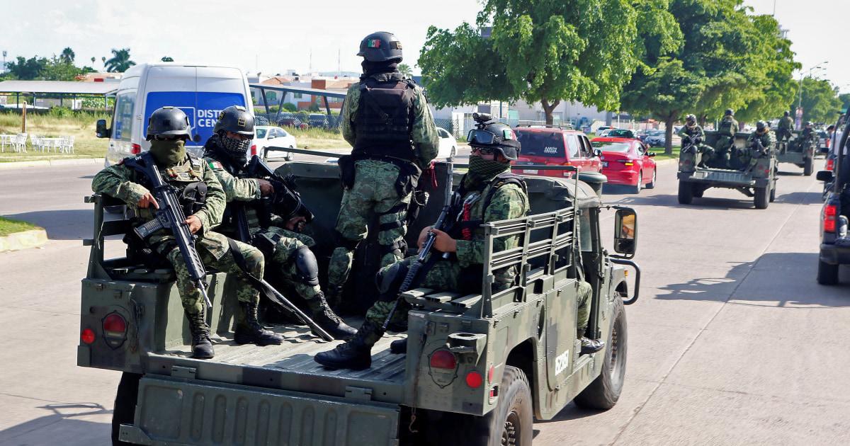 メキシコの社長というと彼らは逮捕エルChapoの息子が公的なリスク