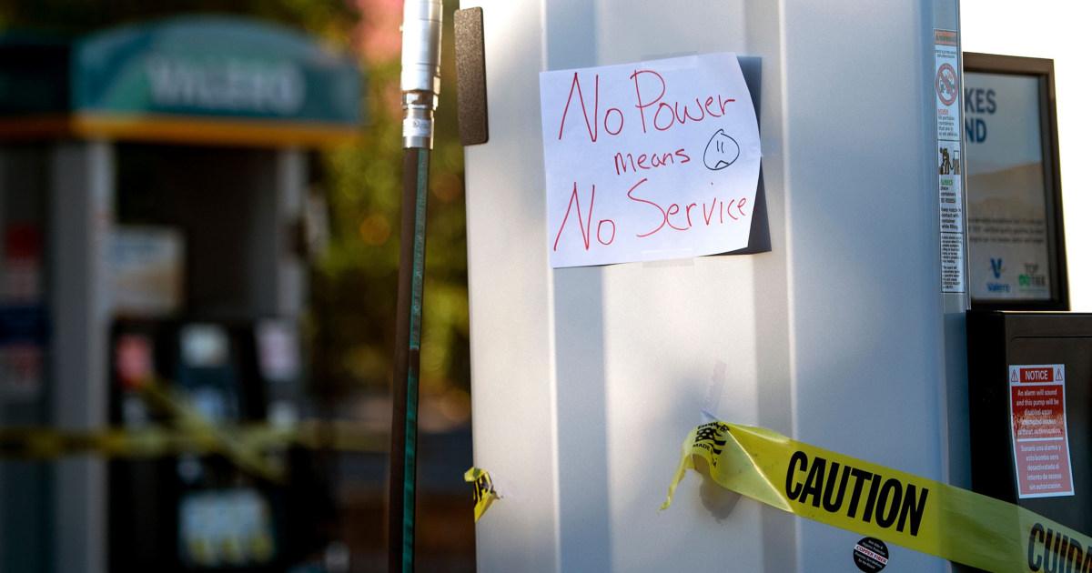 Hunderttausende Kalifornier könnte die macht verlieren, die in dieser Woche wieder