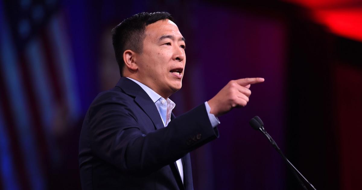 Andrew Yang, fragt DNC-für mehr qualifizierte Abstimmungen vor der Januar-Debatte. DNC sagt Nein.