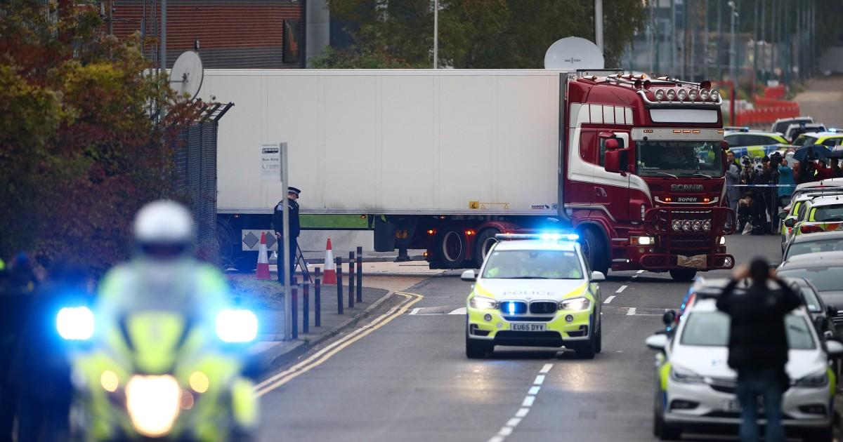 Οδηγός στο ηνωμένο βασίλειο φορτηγό θανάτους χρεώνονται με 39 ανθρωποκτονία μετράει