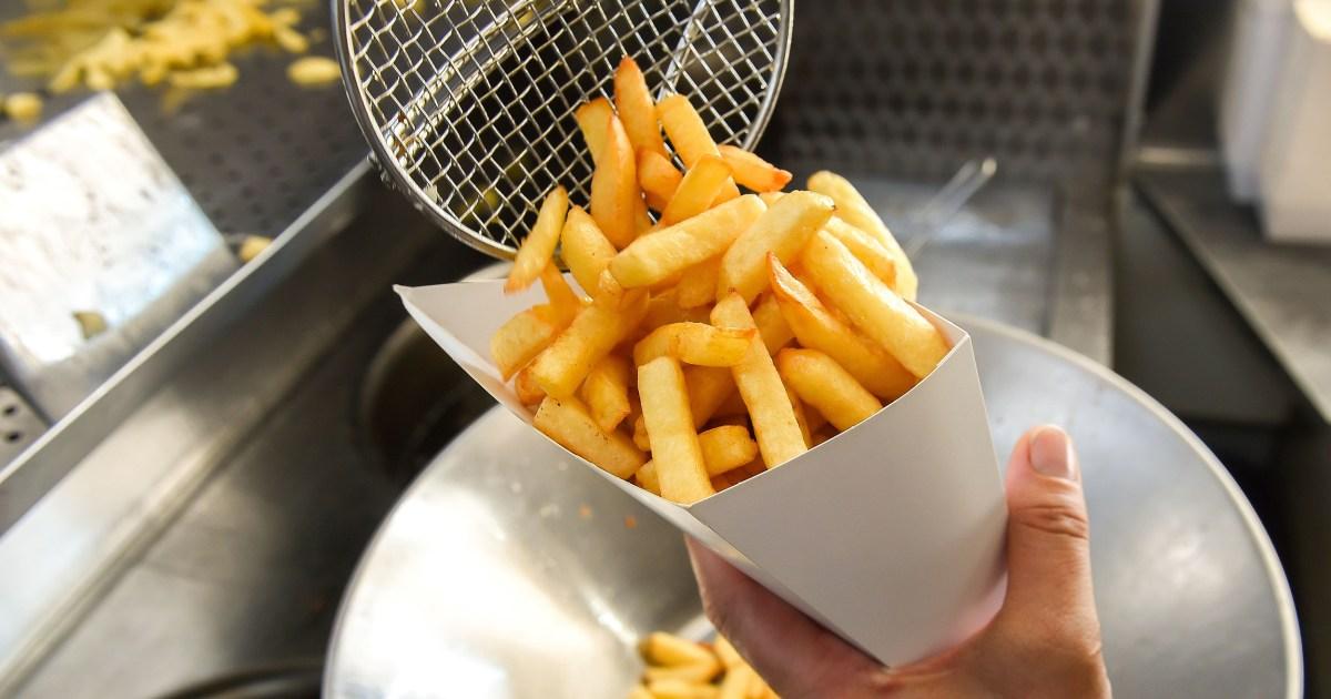 Nach Kalorien zählt, gehen Sie auf die fast-food-Menüs, Bestellungen dip ein bisschen