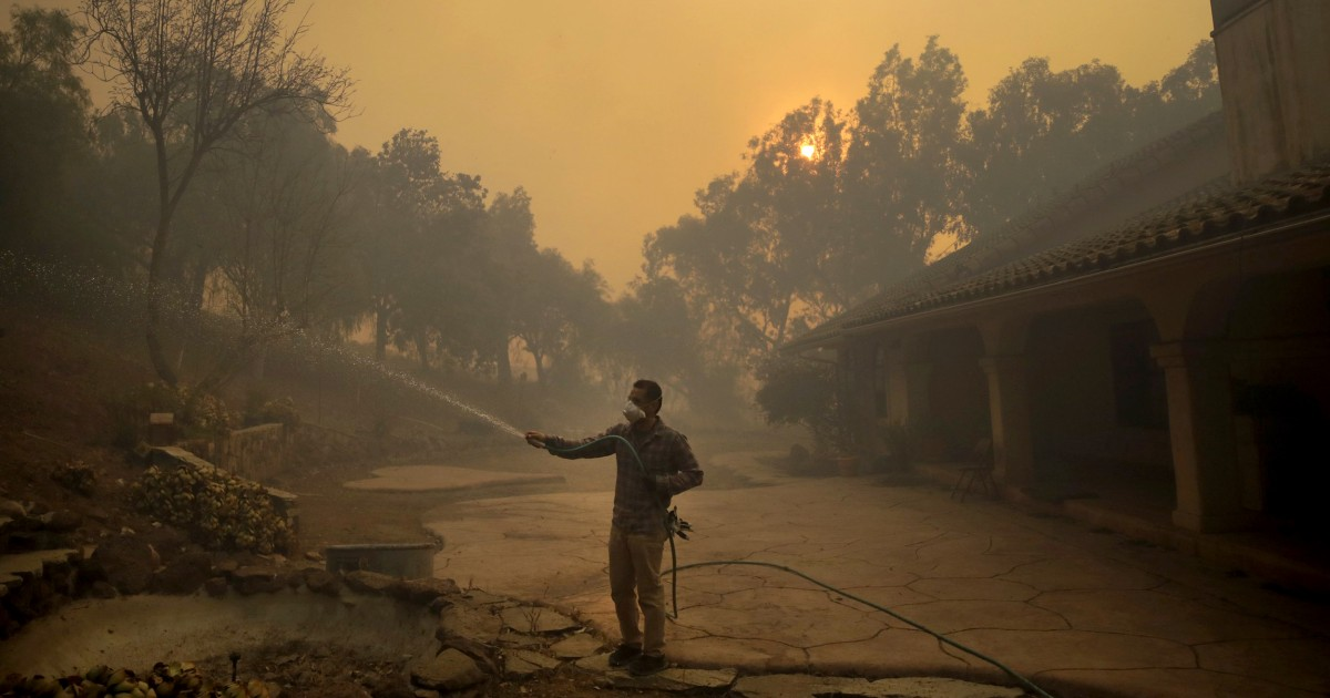 Latino farmworkers face serious health risks due to California's wildfires