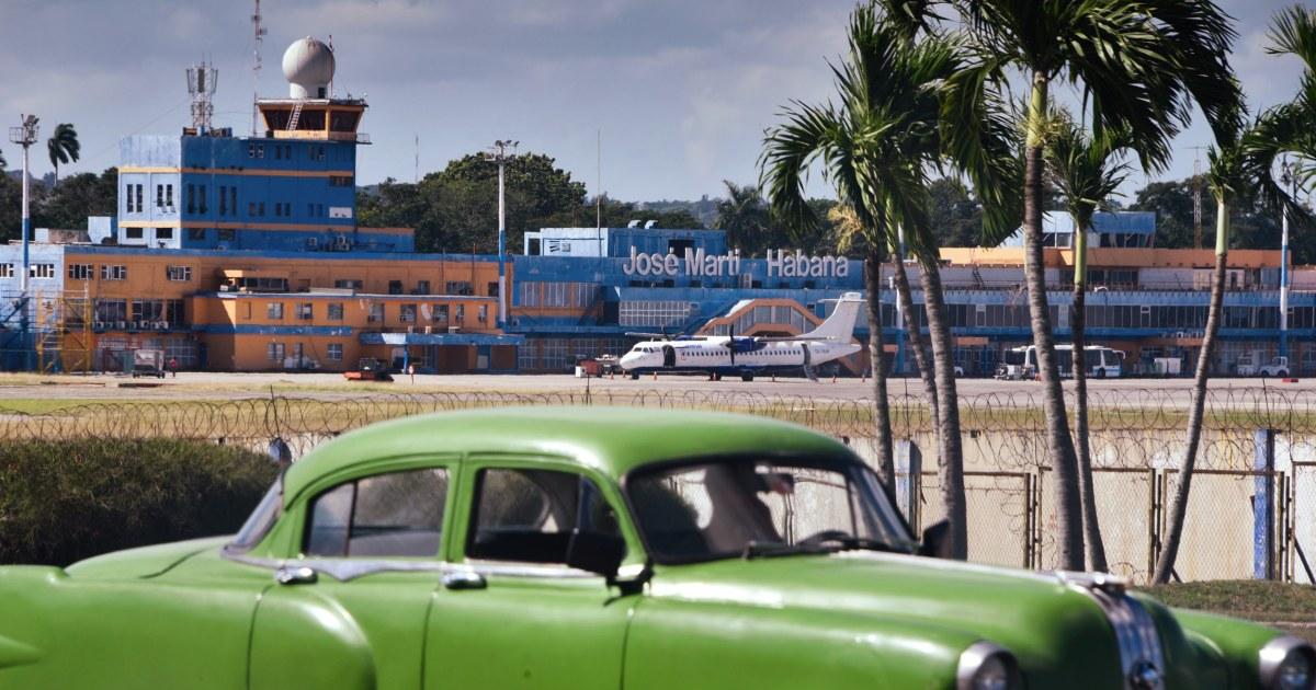 米国を中断のチャーター便にキューバ、ハバナ