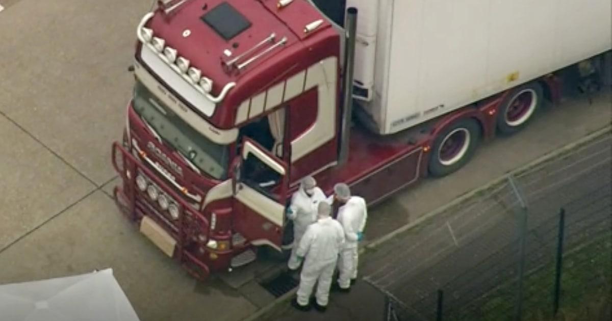 Τα 39 άτομα, βρέθηκε νεκρός στο φορτηγό εμπορευματοκιβωτίων ήταν Βιετνάμ, η Βρετανική αστυνομία