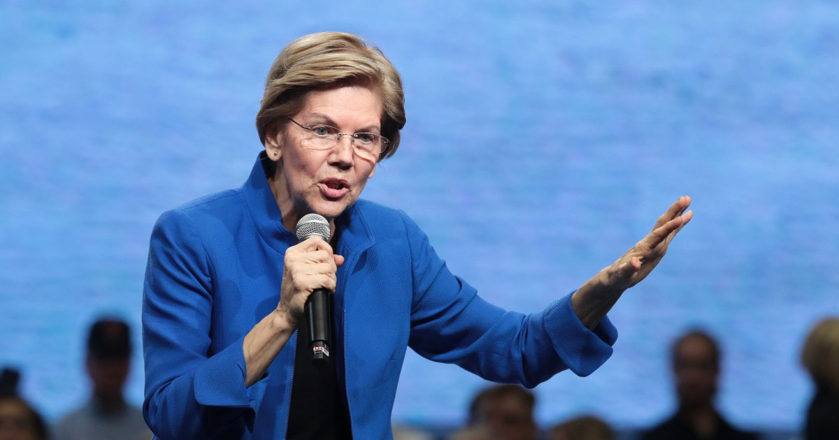 Di Iowa makan malam, 13 kandidat Demokrat mencoba untuk menemukan pelarian saat
