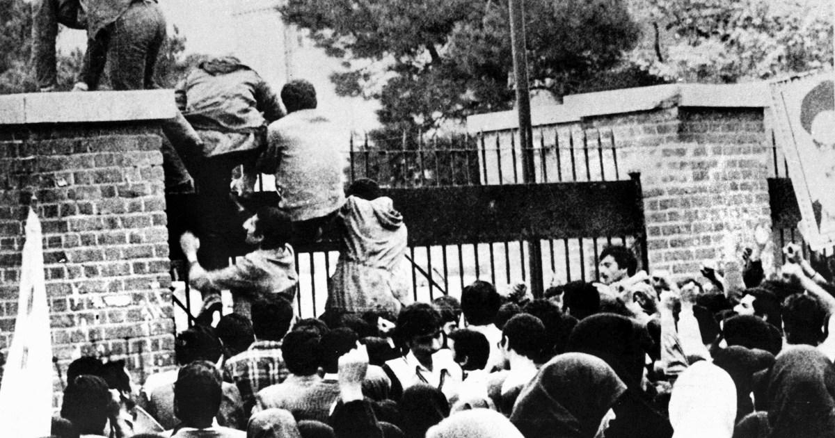 Το ιράν φοιτητής ηγέτης λέει ότι εκφράζει τη λύπη του 1979 ΑΜΕΡΙΚΑΝΙΚΉ Πρεσβεία επίθεση