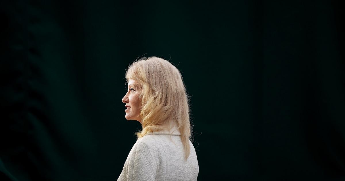 Kellyanne Conway sagt, Sie wissen nicht, wenn der Ukraine-Hilfe hochgehalten wurde über Biden-Sonde
