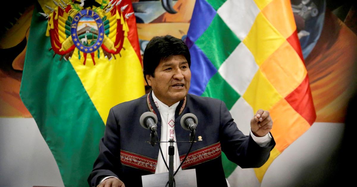 Bolivianische Präsident kündigt Rücktritt inmitten Vorwürfe von Wahlbetrug